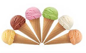 朋友说他的冰淇淋店是这样的