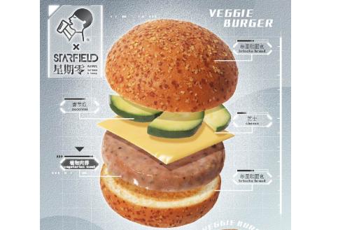 喜茶也开始跨界卖人造肉汉堡了!