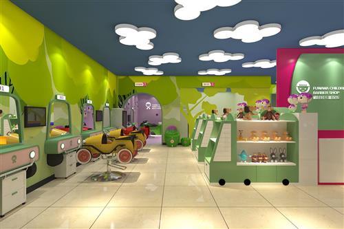 开儿童理发店看准儿童理发加盟品牌