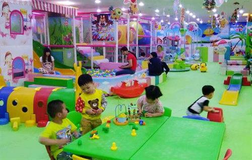 儿童乐园加盟品牌,史洛比儿童乐园前景极为广阔