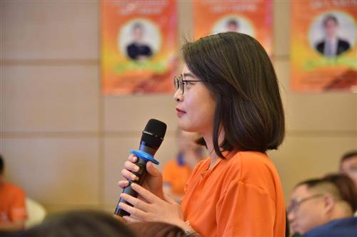 昂立教育加盟商徐慧5年3个校区从实战出发