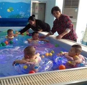 海洋贝贝婴儿游泳馆加盟