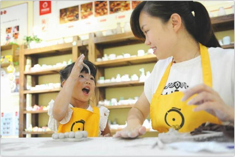 天物坊陶艺陶吧加盟